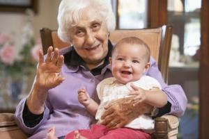 granny-baby