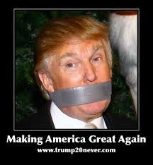 duct tape Trump
