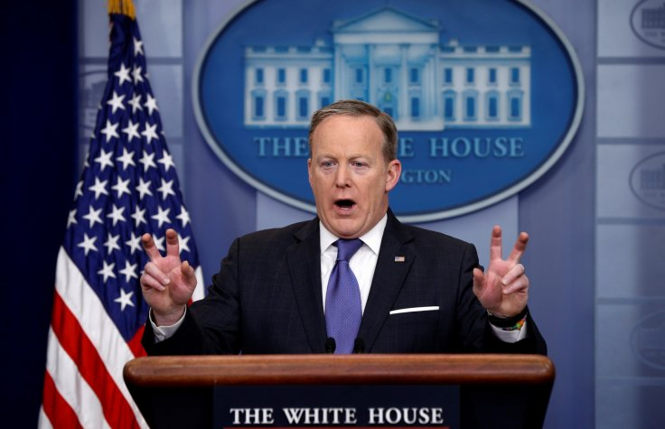 spicer-air-quotes