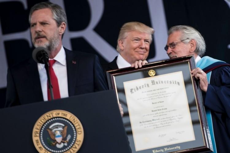 Liberty-honorary-degree