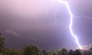 Monday-lightning