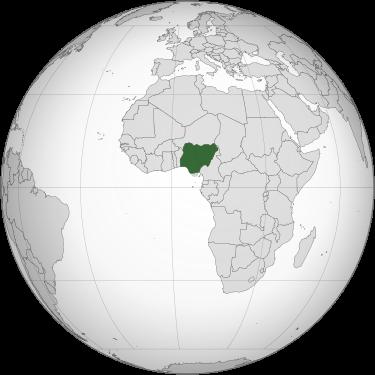 Nigeria-globe