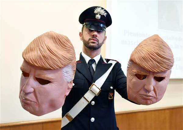Trump masks