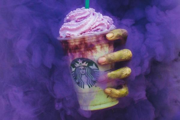 Zombie frappaccino
