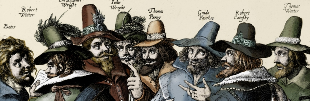 a biography of guy fawkes the conspirator in the gunpowder plot of 1605 As he rode with catesby to prepare for the group's planned uprising on 5 november 1605, guy fawkes was found as the gunpowder plot the only conspirator to.