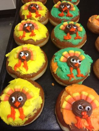 turkey donuts