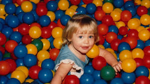 CHILD IN BALLPIT
