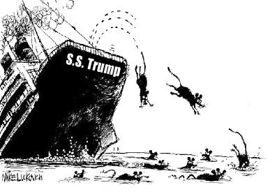 Rats deserting trump ship