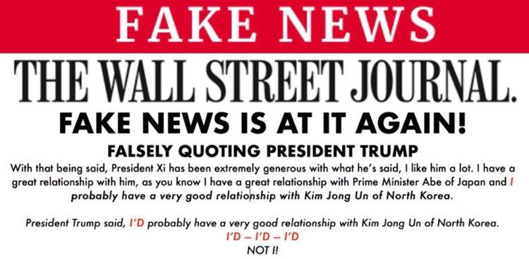 Sarahs fake news