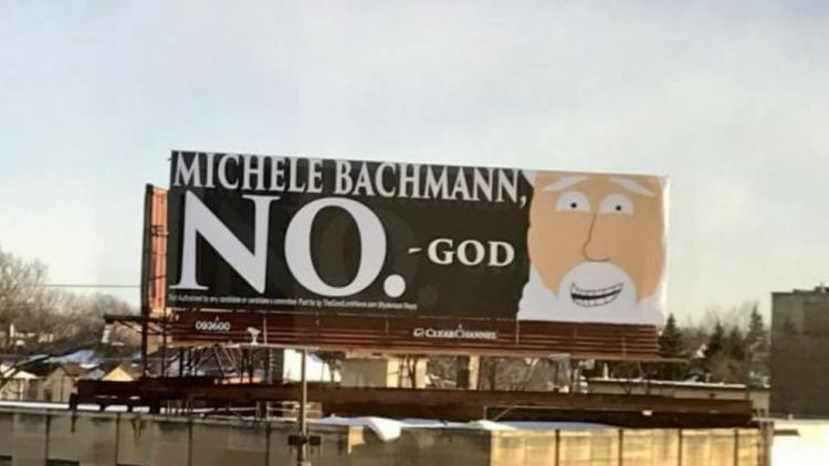 Bachmann-billboard