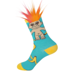 Banana Split Troll Socks