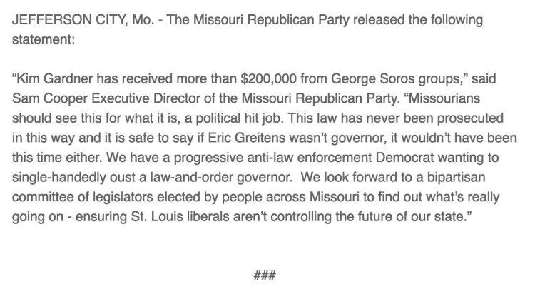 GOP statement