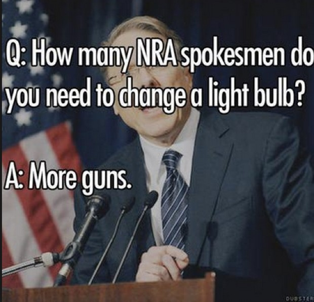 NRA more guns