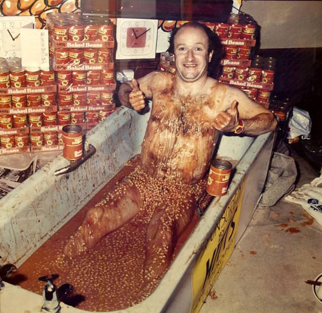 Capn Beany bathtub