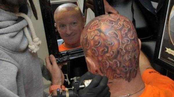 Capn Beany tattoo