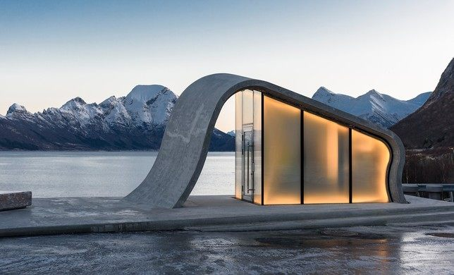 Norway rest area