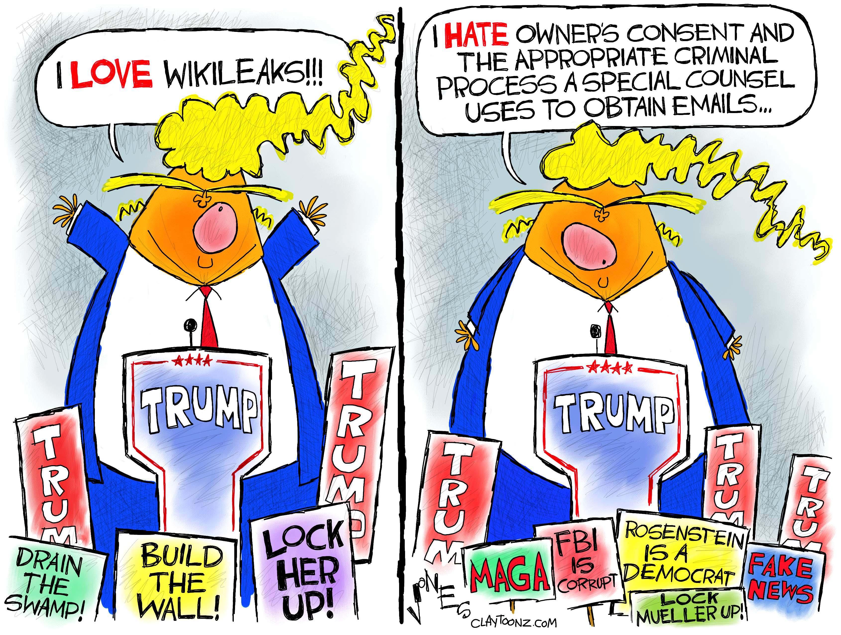 Image result for cartoons of fbi informant trump