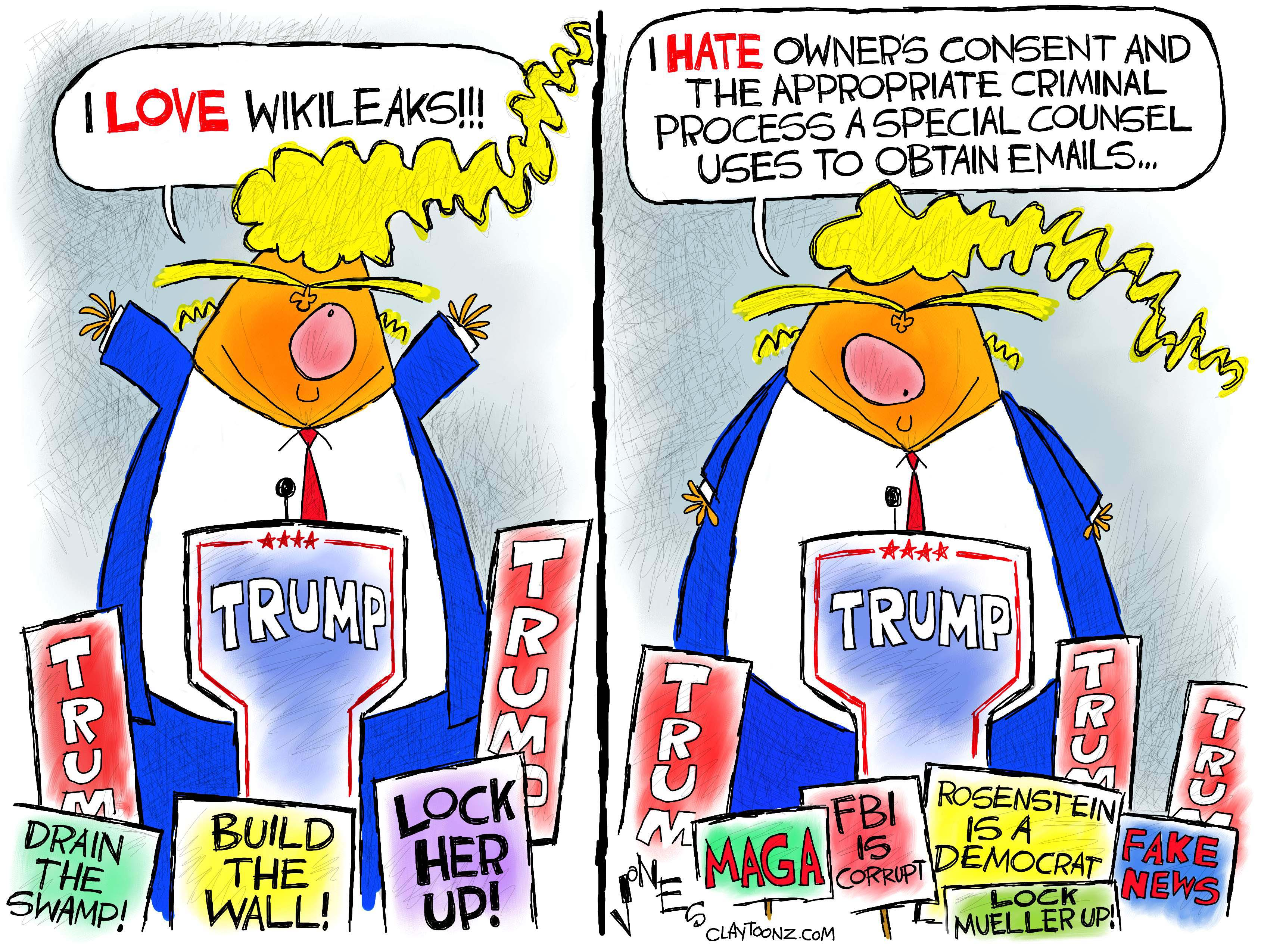 Image result for cartoons of fbi informant trump