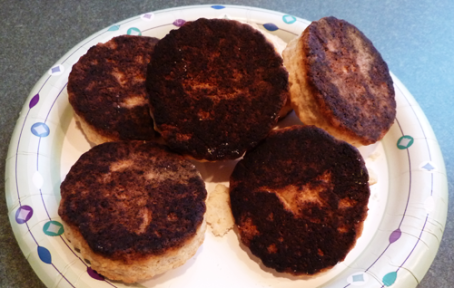 burnt scones