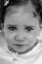 child crying