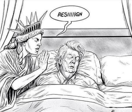 Trump-resign