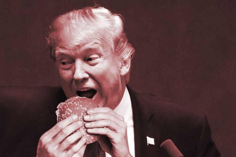 trump-eat-burger