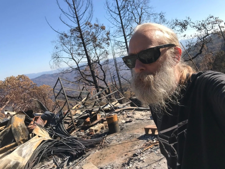 Aarne burnt home