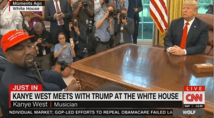Kanye West-Trump