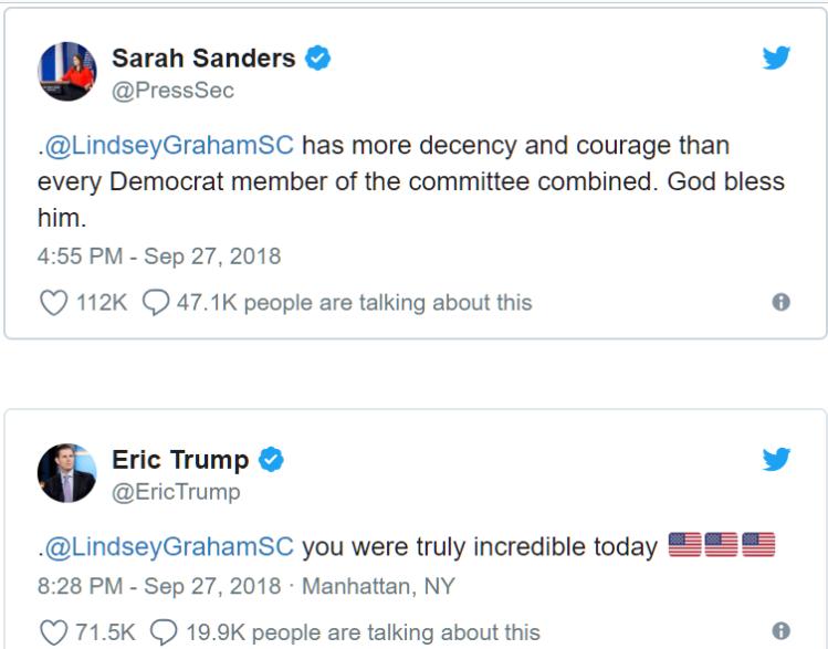sanders-trump tweets