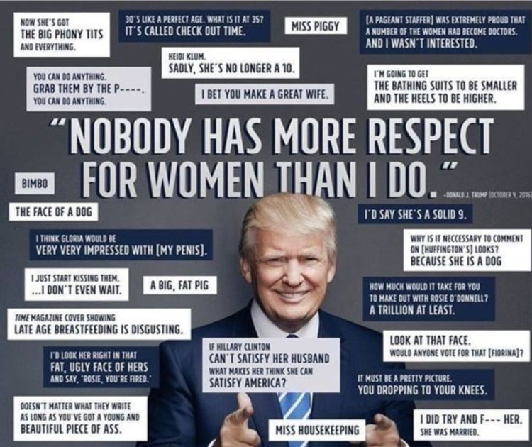 Trump on women