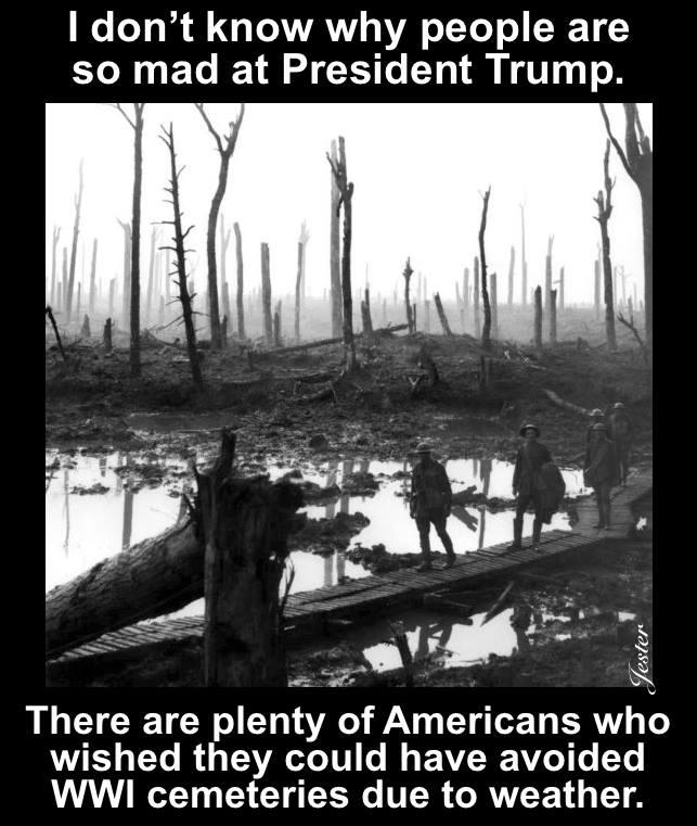 Trump-rain-WWI
