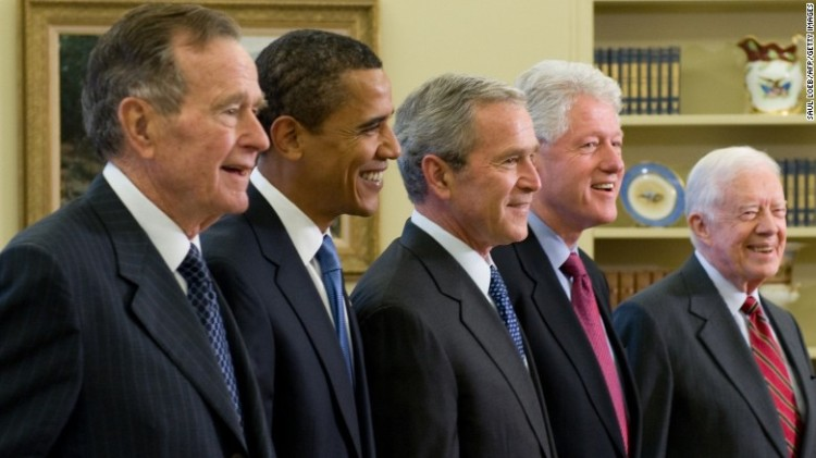 5 living presidents
