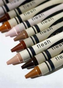 flesh-crayons