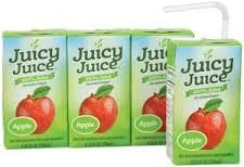 Benjamin's juice boxes -- but he'll share if you ask nicely!