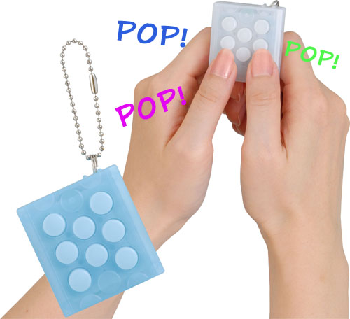 Bubble-Wrap-Keychain