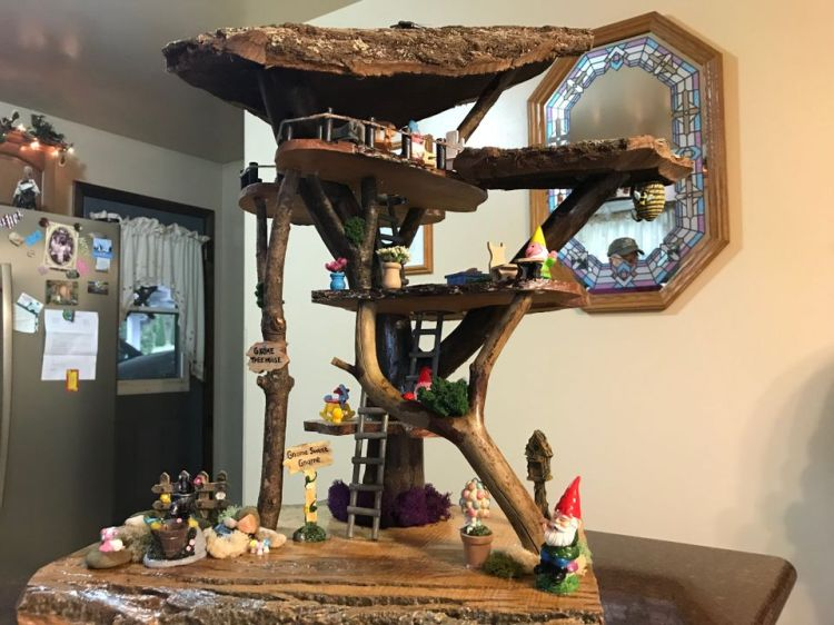 gnome treehouse