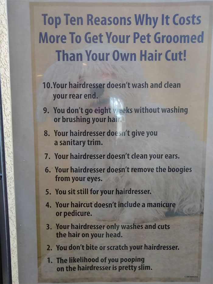 groomer-sign