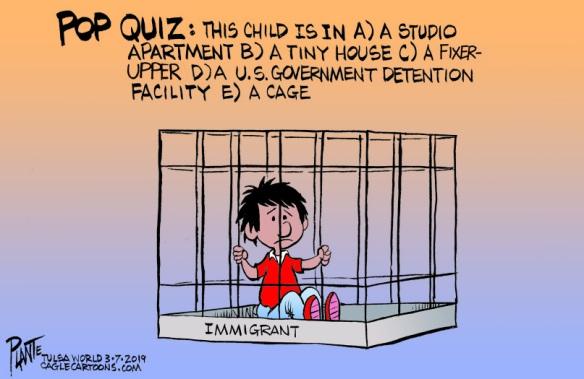 Bruce Plante Cartoon: DHS Secretary Kirstjen Nielsen