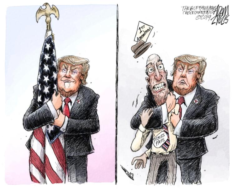 A Trump embrace
