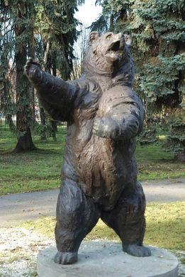 Wojtek statue