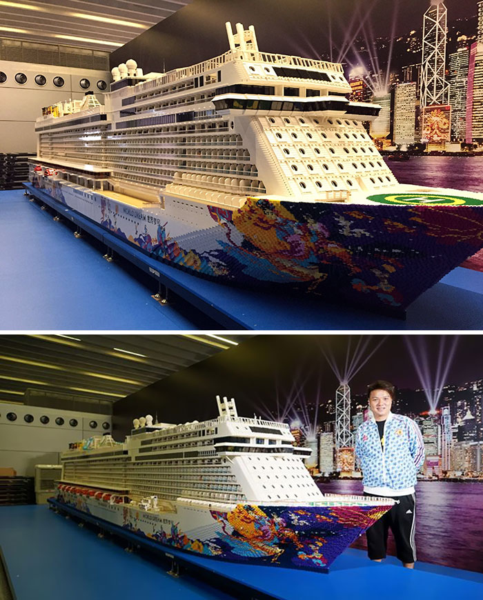 Lego-cruise-ship