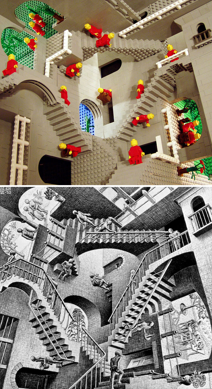 Lego-Escher