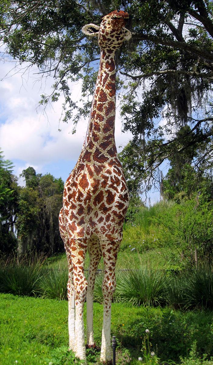Lego-giraffe