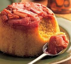 Rhubarb-steamed-pudding