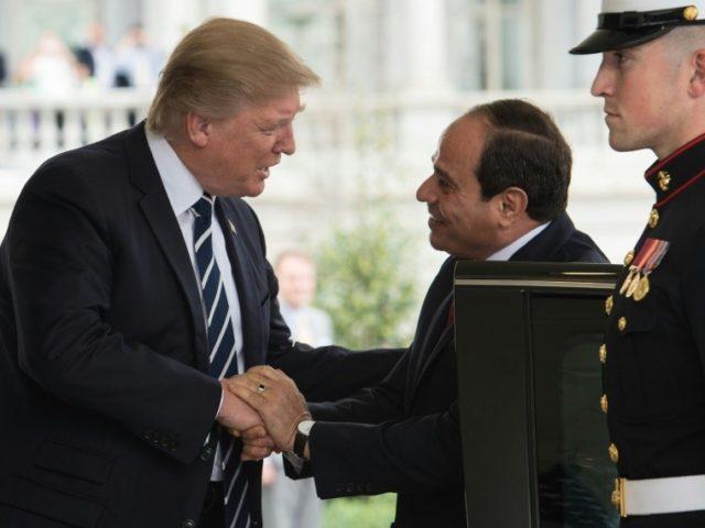 Trump-al-Sissi