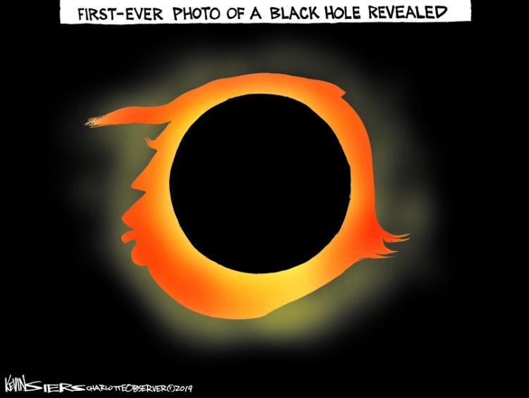 Trump-black-hole