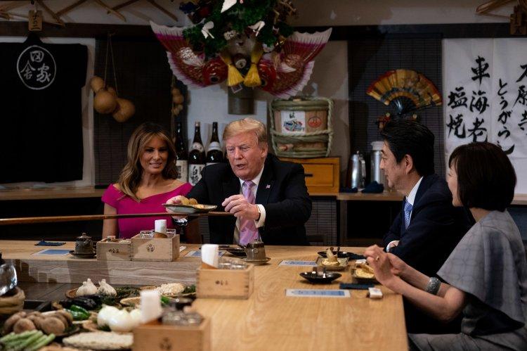Trump-Abe-dinner