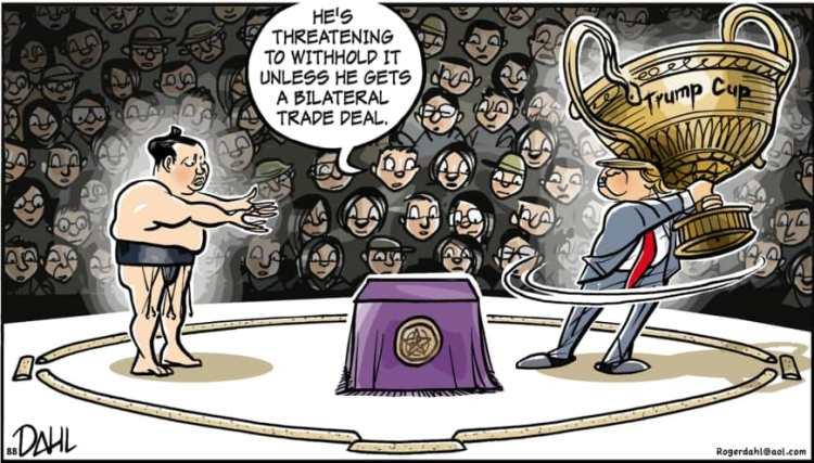 Trump-sumo-toon