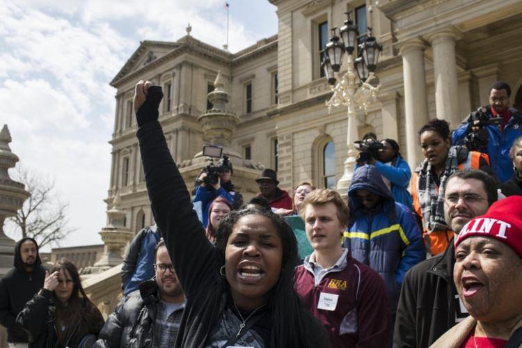 Flint-protest
