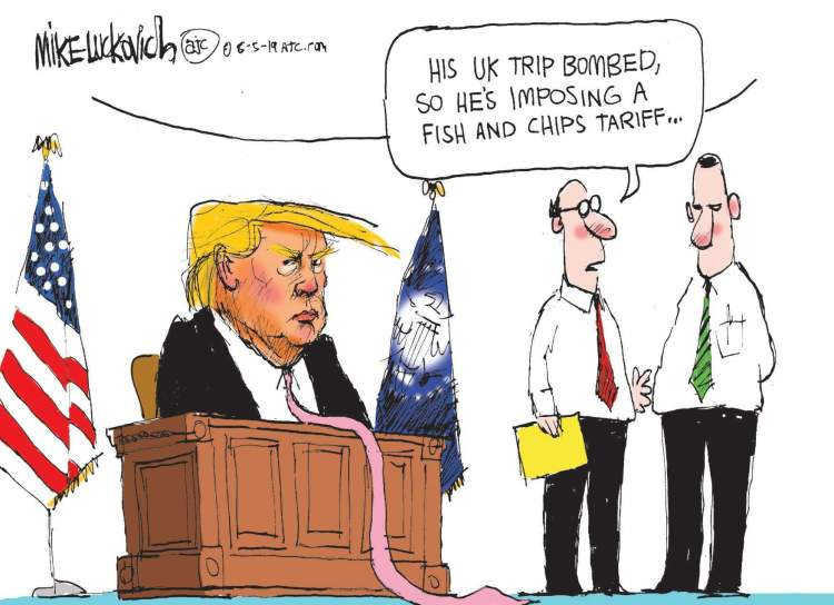 Trump-UK-trip